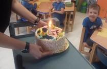 Madzia ijej 5 urodziny :) grupa Żółwiki