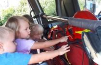 Wizyta wJednostce Straży Pożarnej