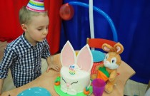 Żabki – Tort i urodzinowa piniata