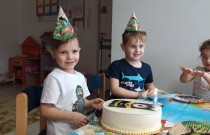 Rybki – Urodziny Hektora