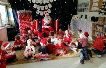Wizyta Świętego Mikołaja (Motylki)