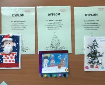 Rozstrzygnięcie konkursu nanajładniejsza kartkę bożonarodzeniową:)