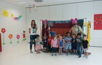 Theater visited Preschool! :)