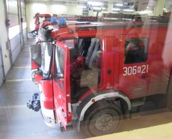 Wizyty naszych Przedszkolaków wJednostce Straży Pożarnej