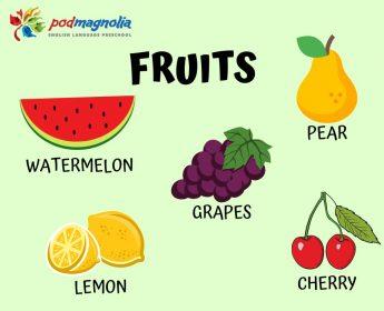 FRUITS 🍓🍏🍒🍐🍊🍍