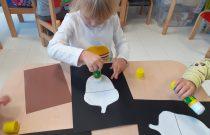 Żołędzie- Praca plastyczna- Grupa Żabek