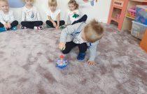 "Nasze zabawki – ""Bączek""-Grupa Żabek"