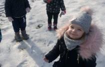 Zimowy spacer – Smerfiki / Winter walk