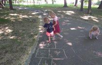 Fantazje kredą malowane- Smerfiki /  Fantasies with chalk painted