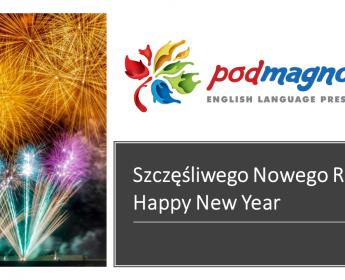 Szczęśliwego Nowego Roku. Happy New Year