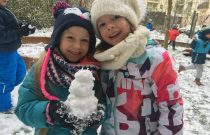 Żabki – Pada śnieg! 😁/ Frogs – It's snowing!❄❄❄