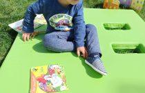 Zabawa w ogrodzie